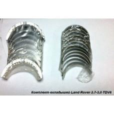 Комплект коренных/шатунных вкладышей на Land Rover 2.7/3.0